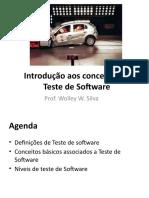 Aula 01 - Introdução Teste de Software