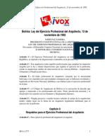 Ley del ejercicio profesional del arq.pdf