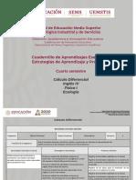 Cuarto semestre_Cuadernillo_Aprendizajes esenciales
