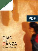 Programa de Dias de Danza 2011
