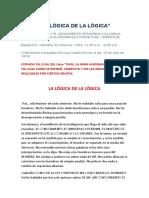 La Lógica de La Lógica - Enrique Castillo Rincón