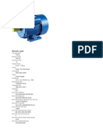 Spesifikasi Motor Listrik (Corry)