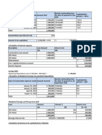 Accumulated Expenditure ,Capitalized cost & Specific Interest cost method - Mason Manufacturing