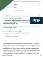 2015 - La composición de la comunidad microbiana del rumen varía con la dieta y el huésped