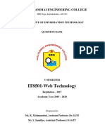 IT8501-Web Technology