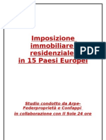 Guida fisco residenziale europeo
