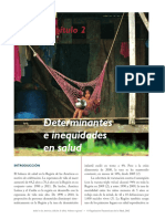 Salud en las americas (2012) - Capitulo 2 Determinantes e inequidades en salud