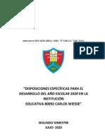 DIRECTIVA Nº 003- 2020