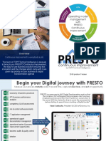 PRESTO Continuous Improvement - 2018 teaser