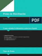 Postes de Distribución