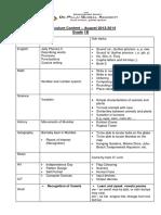 Content Report - Sept, 2013-2014