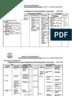 Plan de Evaluación General N°1-30% 6°,1°,2° y 3°