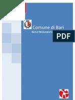 Regolamento edilizio Comune di Bari