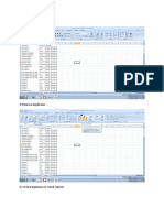 Duplicate removal excel