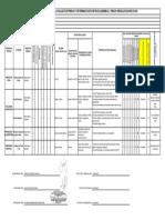 Matriz RESIDUALES UDP
