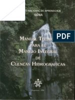 MANUAL DE CUENCAS HIDROGRAFICAS