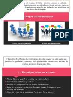 diapositiva los 7 consejos administrativos