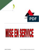 MISE EN SERVICE ORONA_RESUME