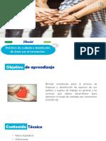 Prácticas de cuidado y desinfección de áreas por el coronavirus.