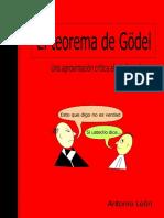 El Teorema de Godel - Antonio Leon