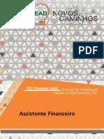 Caderno Didático - Rotinas Financeiras