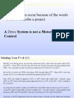 Basic Drive Training