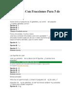 Problemas Con Fracciones Para 5 de Primaria.docx