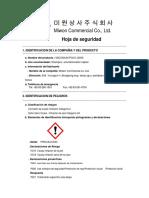 MICONIUM PQ10-J3000 MSDS