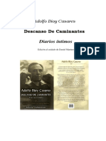 Adolfo Bioy Casares - Descanso De Caminantes
