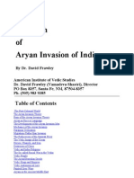 Frawley. Dr David!The Myth of the Aryan Inv