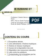 COURS D'ECOLOGIE HUMAINE ET SANTE1
