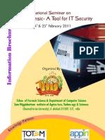 IT security digital forensics conference 24 25 feb 2011 shiats allahabad TOTEM