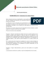 EXAMEN MODULO 02 - Fundamentos de la Gestion Publica