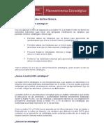 Modulo 5 - La Formulacion Estrategica