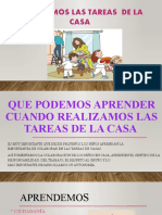 REALIZAMOS LAS TAREAS DE LA CASA