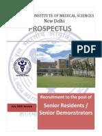 revised prospectus