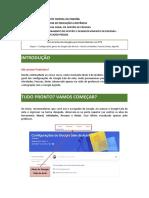2.2 - Configurações gerais do Google Sala de Aula – Mural, Atividades, Agenda, Pessoas e Notas