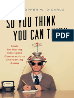 So You Think You Can Think Tools for Having Intelligent Conversations and Getting Along.epub