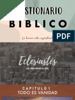 CUESTIONARIO BIBLICO 3C