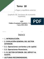 PEEC (ADE) Tema 18 y Tema 19