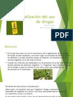 Despenalización del uso de drogas