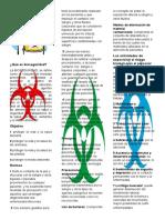 Bioseguridad folleto