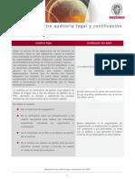 Diferencias Auditoria Legal y Certificacion ISO 45001