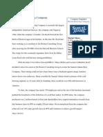 boston beer company case study solution