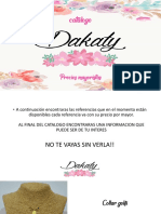 Catalogo dakaty