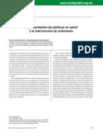 Clase 3 - Artículo Politicas en Enfermeria en México.pdf