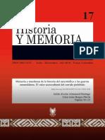 Memoria y enseñanza de la historia.