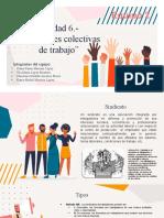 Unidad 6 - Relaciones colectivas de trabajo -  Equipo 2.pptx