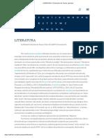 LITERATURA - E-Dicionário de Termos Literários