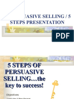Persuasive Selling
